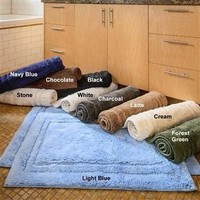 HC™ Superior Cotton 2 Piece Bath Rug Set