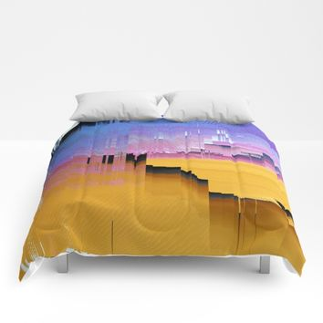 Beautifully Broken Comforters by DuckyB