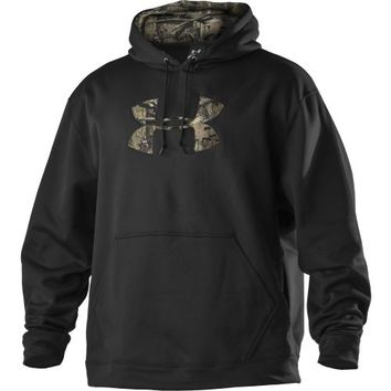 Under Armour® Men's Armour®Fleece Tackle Twill Logo Hoodie