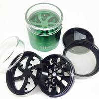 63mm Clear Top Stash Sharper Grinder