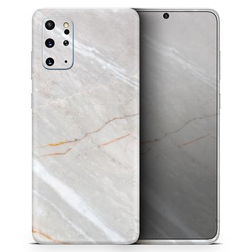 Slate Marble Surface V8 - Skin-Kit for the Samsung Galaxy S-Series S20, S20 Plus, S20 Ultra , S10 & others (All Galaxy Devices Available)