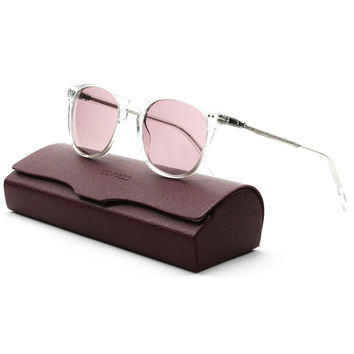 Oliver Peoples Sir Finley Sunglasses Crystal / Viola Photochromic 49 mm
