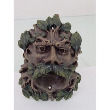 Color Finish Celtic Greenman Wall Mounted Bottle Opener