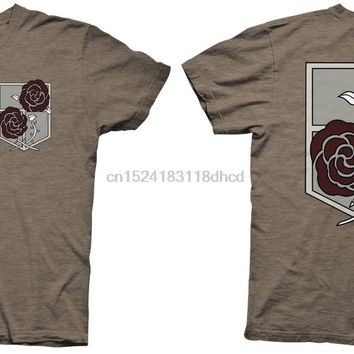 Cool Attack on Titan  Garrison Symbol Anime Licensed Adult T Shirt AT_90_11