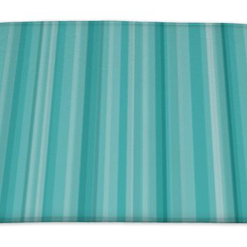 Bath Mat, Abstract Striped Pattern Wallpaper Illustration