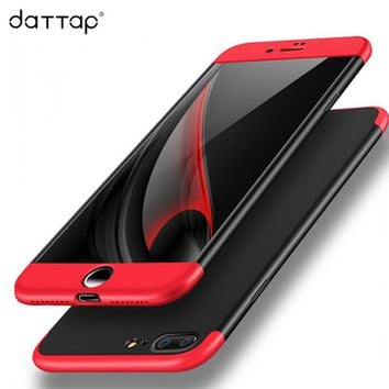 daTTap For iPhone 6 6S 7 8 Plus Phone Case For iPhone 5S 5 SE X