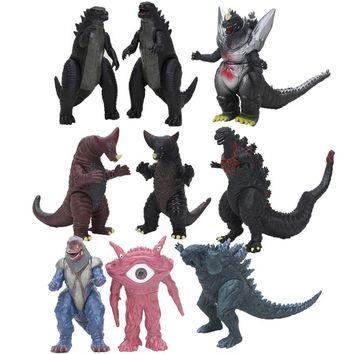 Anime Godzilla Spacegodzilla dragon PVC Action figure Dispaly Doll Collection Model Toys Ultraman 18cm kids toys for children