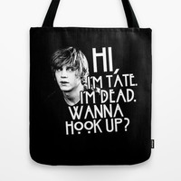 American Horror Story: Tate Tote Bag by dan ron eli