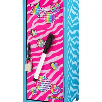 Zebra Dry Erase Mini Locker | Girls Room Decor Beauty, Room & Tech | Shop Justice