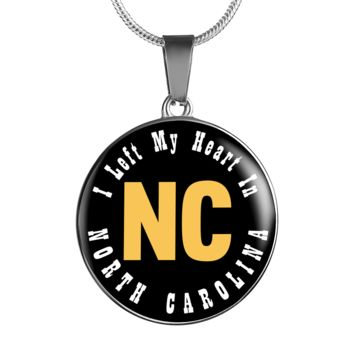 Heart In North Carolina - Luxury Necklace