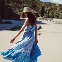 Flores Maxi Dress in Lily