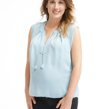 Rebecca Taylor Double Georgette Silk Top