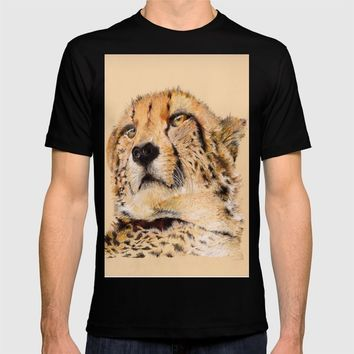 Season of the Cheetah T-shirt by michael jon