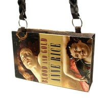 Anne Rice Vampire Chronicles Blood and Gold Book Purse