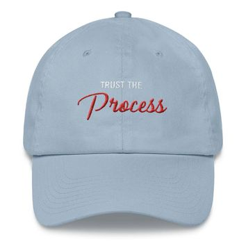 80s Script The Process Embroidered Dad hat