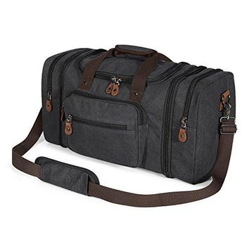 Plambag Canvas Duffle Bag for Travel a28485fe7b6c4