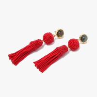 Lizzie Fortunato / Havana Earrings in Red