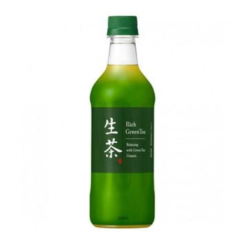 Kirin Rich Whole Leaf Cold Brew Green Tea, 16.9 fl oz (500 mL)