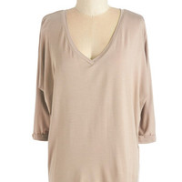 ModCloth Mid-length 3 Easy as One, Two, Tee! Top