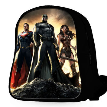 Superman X Batman X Wonderwoman Backpack