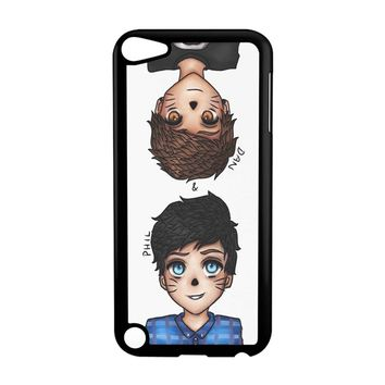 Anime Dan And Phil iPod Touch 5 Case