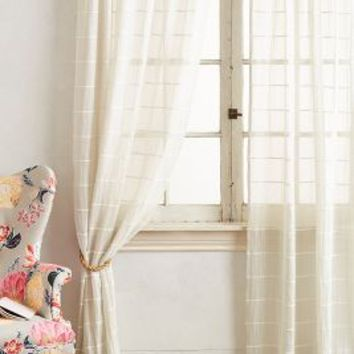 Sun Shadow Curtain by Anthropologie