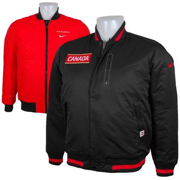 Team Canada IIHF Reversible Defender Jacket Olympic Logo