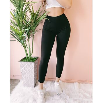 RESTOCKED #8! GENIE THICK BAND HIGH WAIST LEGGINGS