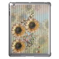 Country Sunflowers iPad Case