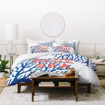 Zoe Wodarz Under The Seas Duvet Cover
