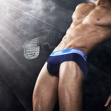 WJ Bare Brief Navy - Underwear range on aussieBum online store