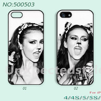 Phone Cases, iPhone 5 Case, iPhone 5S/5C Case, iPhone 4/4S Case, Nina Dobrev, Case for iPhone-400503