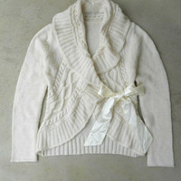 Frosty Knit Cardigan [4557] - $52.00 : Vintage Inspired Clothing & Affordable Dresses, deloom | Modern. Vintage. Crafted.