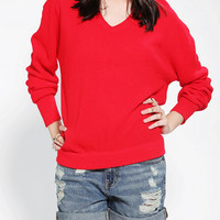 Urban Outfitters - Urban Renewal Vintage Boyfriend V-Neck Sweater