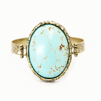 Bisbee Turquoise Stone Bangle