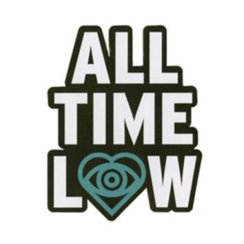 All Time Low Eye Heart Sticker