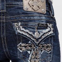 Miss Me MK 332 Jazzy Diamond Bootcut Jeans