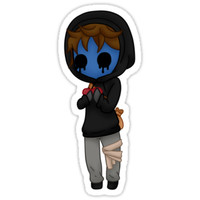 Eyeless Jack Sticker by KayBit