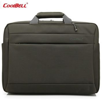COOLBELL Multi-functional three-use 17 inch Laptop Briefcase Shoulder bag messenger Men Women Laptop Notebook Computer Bag-FF