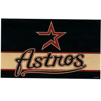 Houston Astros - Logo 3' X 5' Flag