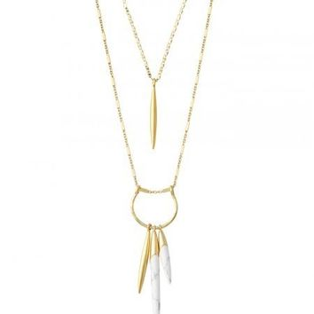 Quill Layering Necklace