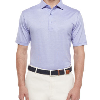 Rodeo Stripe Lisle Polo Shirt,
