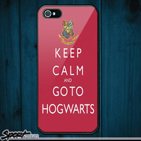 Harry Potter keep calm pattern iPhone 5 Hard Case Cover by sportholic