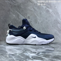 HCXX N1424 Nike Air Huarache 8.0 Casual Fashion Low Jogging Shoes Blue White