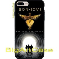 New Hot Rare Bon Jovi Poster Art CASE COVER iPhone 6s/6s+7/7+8/8+,X and Samsung