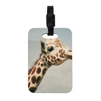 "Angie Turner ""Giraffe"" Animal Decorative Luggage Tag"