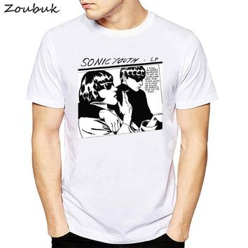 sonic youth t shirt men women funny goo classic rock roll vocals band bass guitar Punk Rock unisex fashion t-shirt men camiseta
