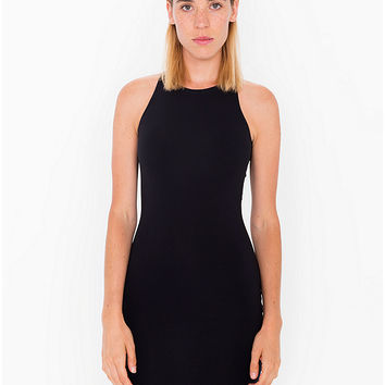 Cotton Spandex Sleeveless Mini Dress | American Apparel