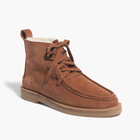 The Travis Lace-Up Shearling Boot