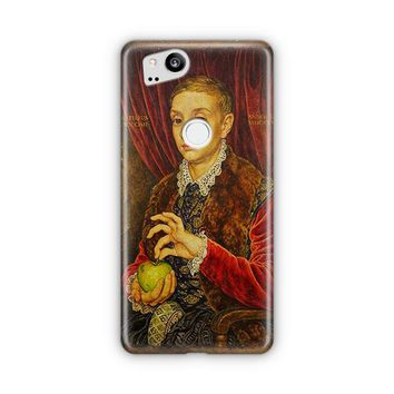 Boy With Apple Grand Budapest Hotel Google Pixel 3 Case | Casefantasy